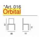 Sedia Orbital - Art. 016