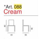 Art. 088 - Cream- La Seggiola