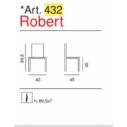 sedia pieghevole Art. 432 - Robert- La Seggiola