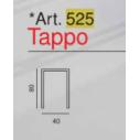 sgabello policarbonato colorato Art. 525 - Tappo- La Seggiola