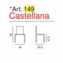 Sedia Modello Castellana Art. 149 - La Seggiola