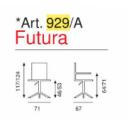 Art.929A Futura Alta o Bassa - La Seggiola