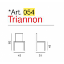 Art.054 - Triannon- La Seggiola