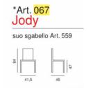 Art. 067 - Jody- La Seggiola