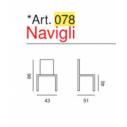 Art. 078 - Navigli- La Seggiola