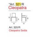 Art. 321/R - Cleopatra- La Seggiola
