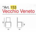 Sedia Vecchio Veneto Art. 153  - La Seggiola