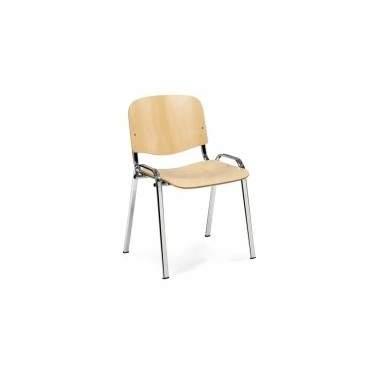Sedia Ufficio Stella legno ignifugo Art. 985/S - La Seggiola