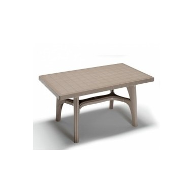 Tavolo Giardino Tecnoresina rettangolare Art. 1110/8 - La Seggiola