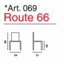 Art. 069 Route 66- La Seggiola