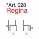 Sedia policarbonato trasparente Regina Art. 028- La Seggiola
