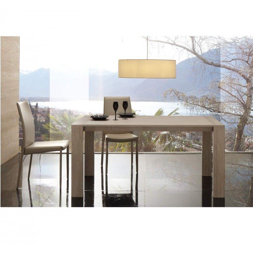 Tavolo Moderno In Rovere.Tavolo Allungabile Moderno Art 692 La Seggiola Miglior Prezzo