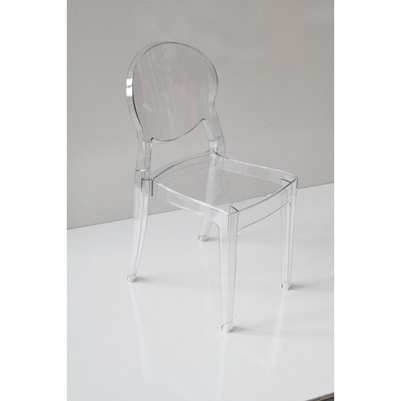 Sedia trasparente modello INK Art.033/1- La Seggiola