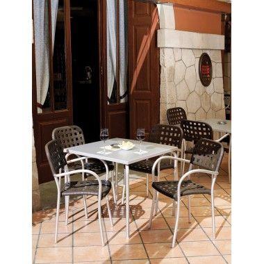 Tavolo Giardino impilabile Art. 1250/20 - La Seggiola