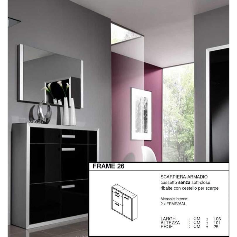 Scarpiera Armadio Frame 26 - 106 x 101