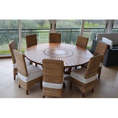 Tavolo Giardino Real Table Art. 1821/12 - La Seggiola