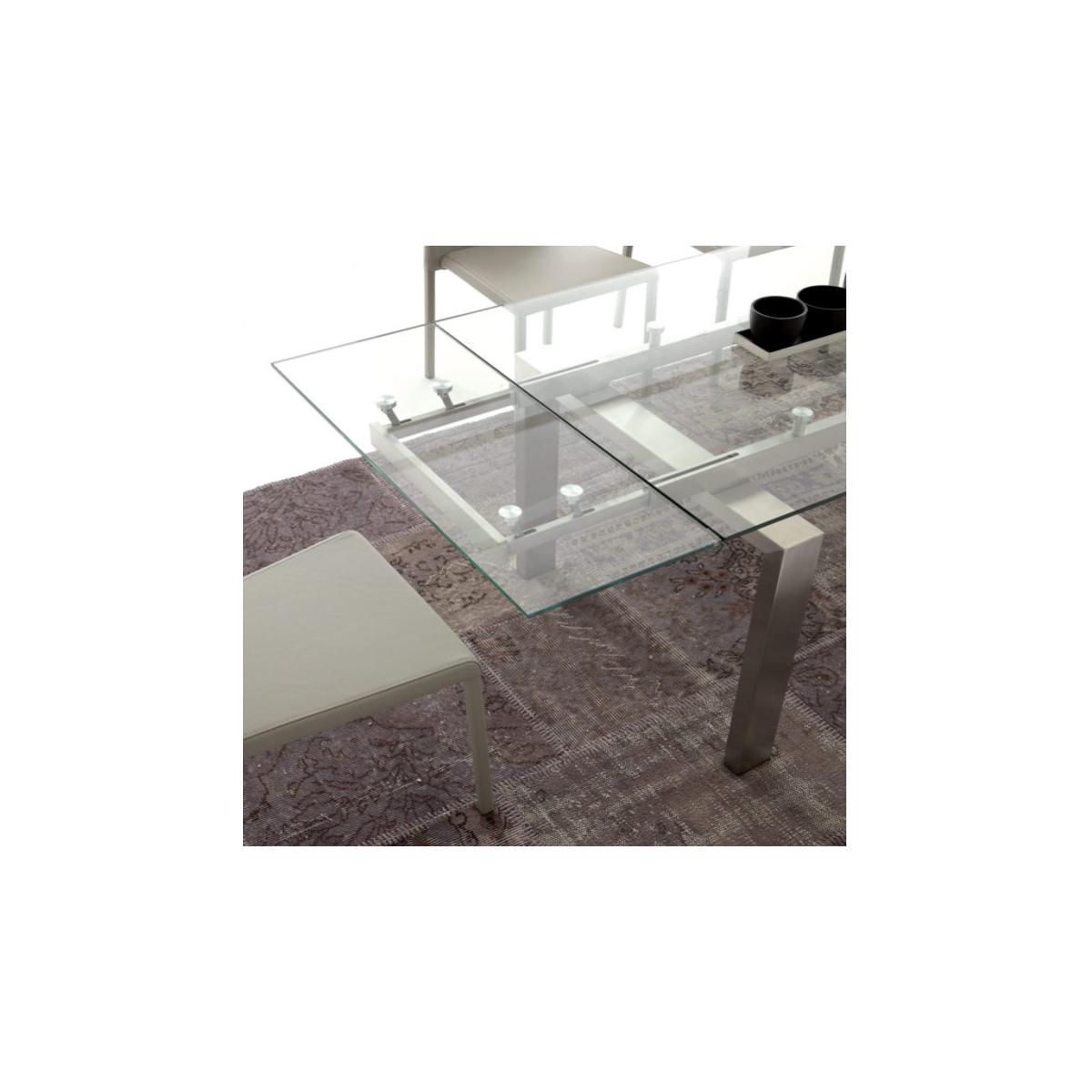 Tavolo Vetro Allungabile Manhattan Art 672 La Seggiola Miglior Prezzo