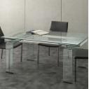 Tavolo Mini Glass Art. 676/2 La Seggiola