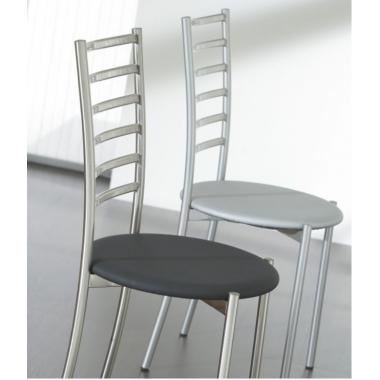 Sedia metallo e legno - Polo Art. 030- La Seggiola