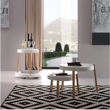 Tavolino - Carrello con Ruote Art. 808 La Seggiola
