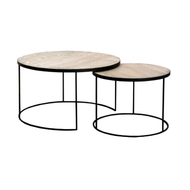Set due Tavolini modello UNO Art. BK117 La Seggiola