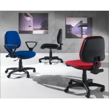Sedia Ufficio Alfa con braccioli Art. 949/B - La Seggiola