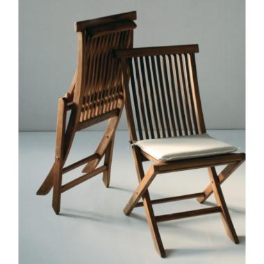 Sedia Giardino Folding Chair pieghevole Art. 1821/3 - La Seggiola